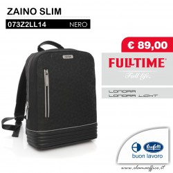 ZAINO SLIM LONDRA LIGHT BLACK