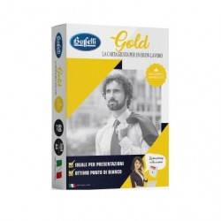 Gold Carta Buffetti A4